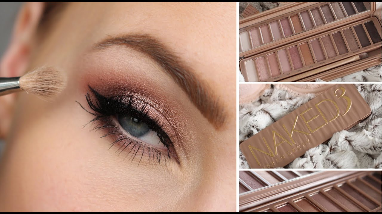 Urban Decay Naked 3 Eyeshadow Palette Tutorial - Youtube-8586