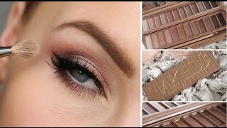 URBAN DECAY NAKED 3 EYESHADOW PALETTE TUTORIAL