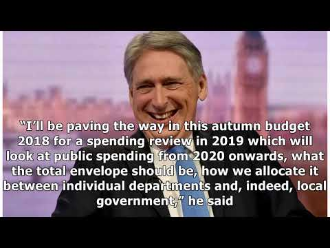 Philip Hammond: there is light at the end of the tunnel for UK debt