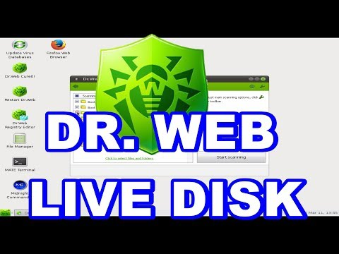 Dr Web Livedisk|Dr Web Cureit|Scan Your Computer With Dr Web Live Disk