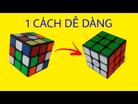 Hướng Dẫn Giải Khối Rubik 3x3 1 Cách Đơn Giản Nhất Cho Người Mới Tập Chơi