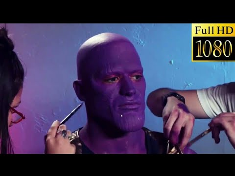 Thanos Makeup In Avenger Infinity War Avenger4 Youtube