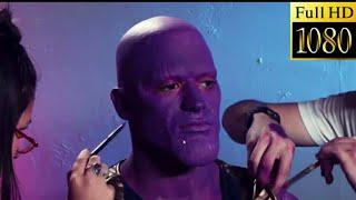 Thanos makeup in Avenger infinity war#avenger4