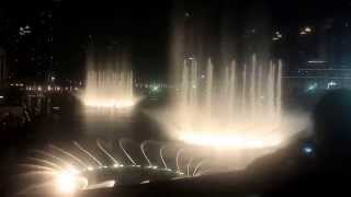 Dubai mall Water fountain