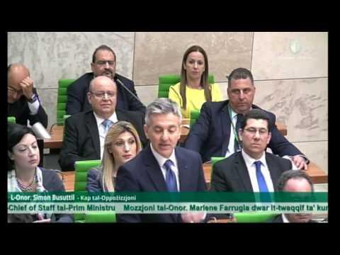 """""""Inwiegħed li nnaddaf il-mentalità korrotta li daħħal Joseph Muscat"""" - Simon Busuttil"""