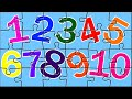 Learn Numbers With Color Book Puzzles | Number Song | Color Song | Kids Puzzles