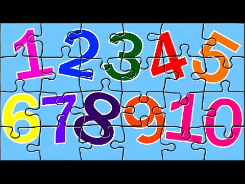 Thumbnail: Learn Numbers With Color Book Puzzles | Number Song | Color Song | Kids Puzzles