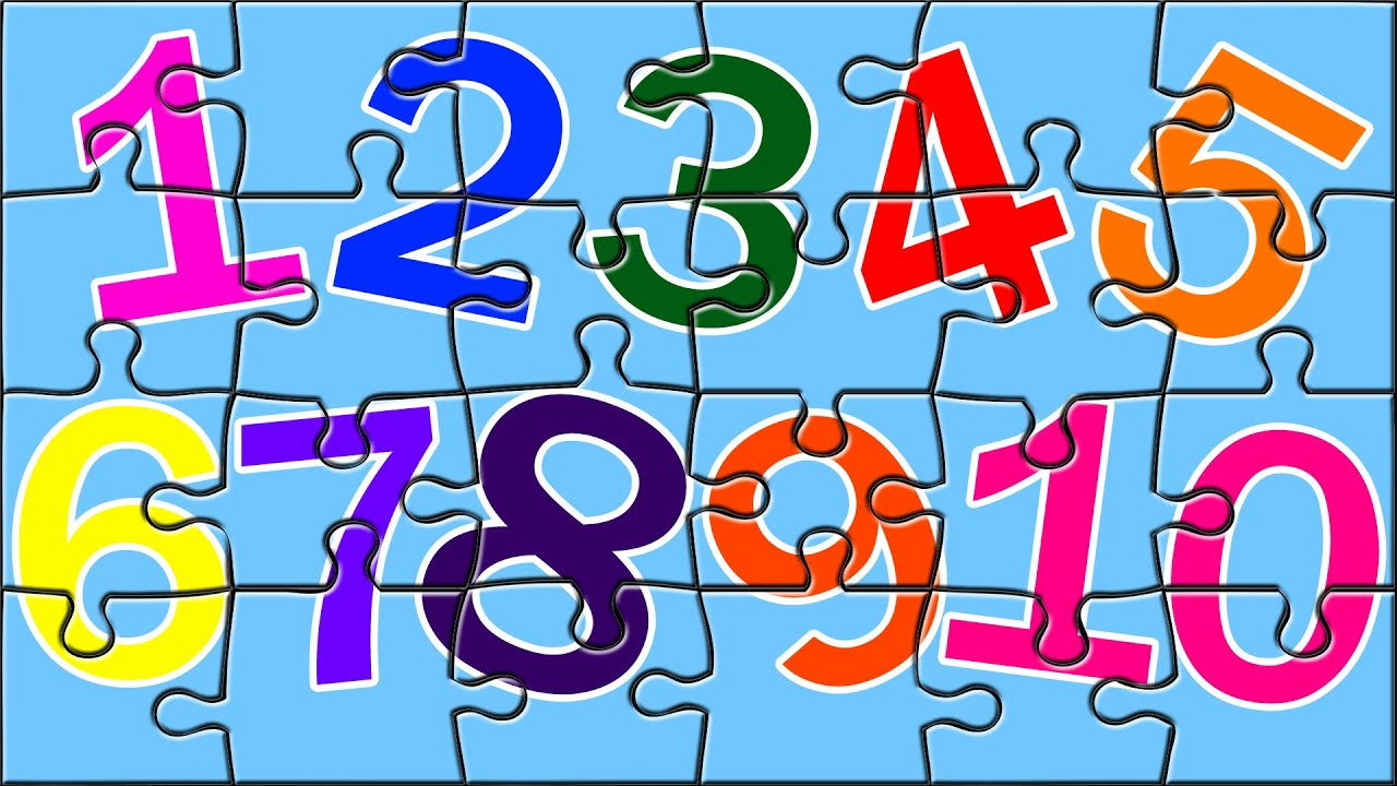 Learn Numbers With Color Book Puzzles