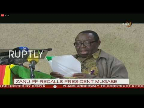 LIVE: Mugabe to give TV address