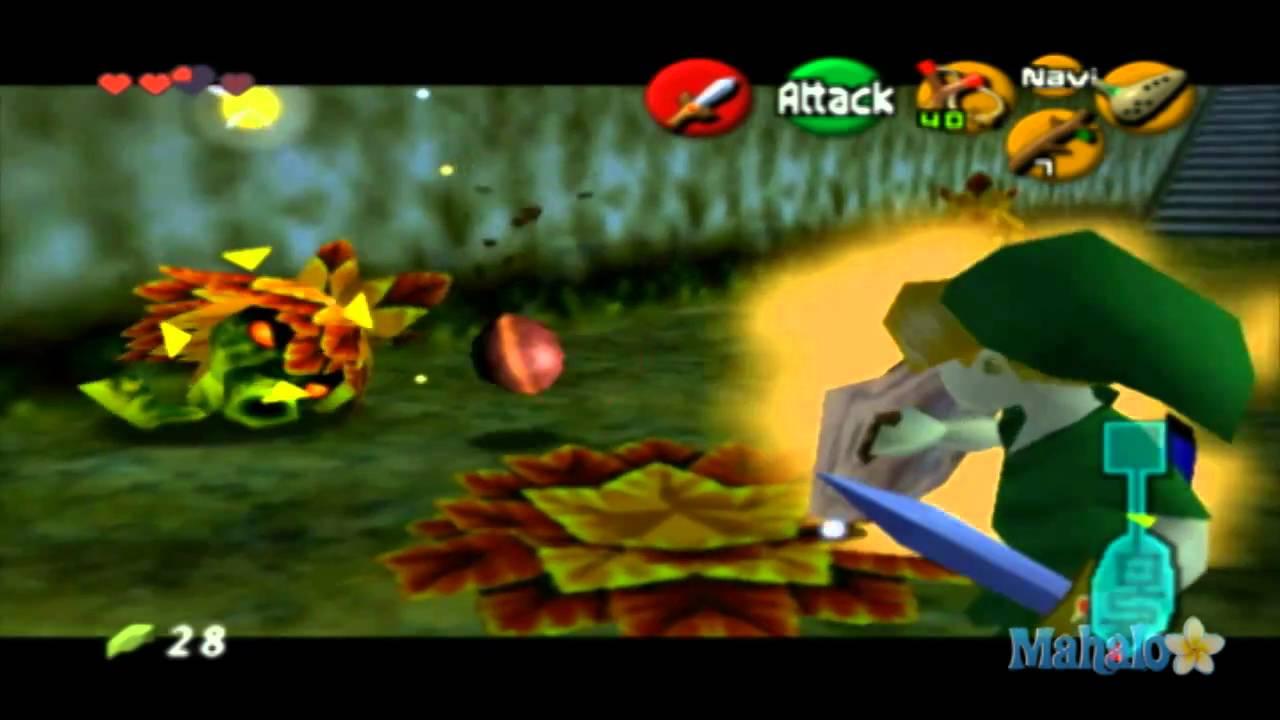 Legend of Zelda: Ocarina of Time Walkthrough - Lost Woods