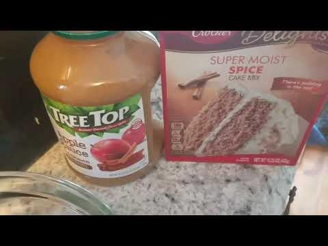 2 Ingredients Muffins (apple Spice Muffins)