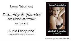 Lena Nitro liest: Sexsüchtig & Gemolken - Therapie zur Lustsklavin (Audio Leseprobe)