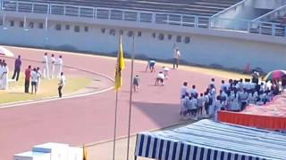 (4×100) Relay Race Boys @ JRD TATA Sports Complex.