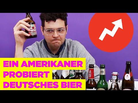 Ein Amerikaner bewertet 14 deutsche Biersorten