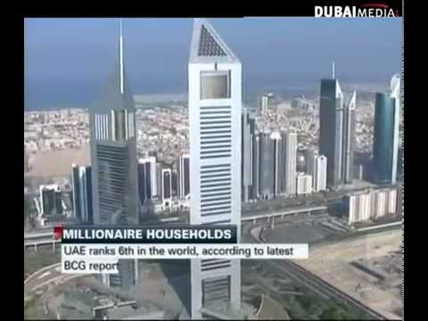 UAE in World's Top 10 for Millionaires