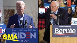 The Democratic presidential race comes down to Joe Biden and Bernie Sanders | GMA