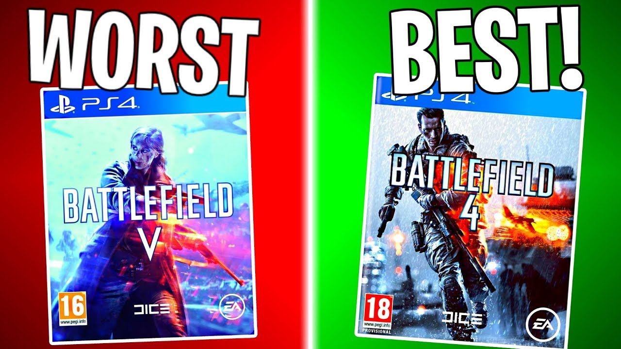 RANKING EVERY BATTLEFIELD GAME FROM WORST TO BEST! | Battlefield
