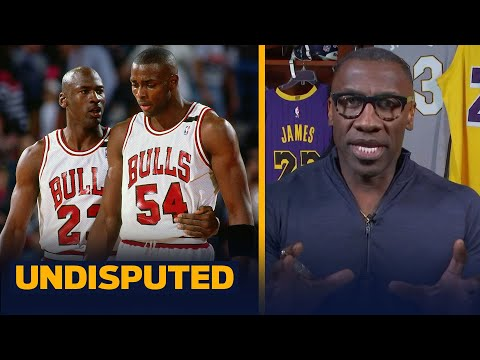 Shannon reveals what Horace Grant told him on the phone about Michael Jordan   NBA   UNDISPUTED