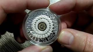 #монета #обзор Беларусь 20 рублей 2012 г. год ЗМЕИ китайский календарь гороскоп обзор 2019