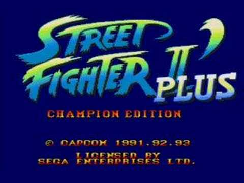 Street Fighter II Various Intros