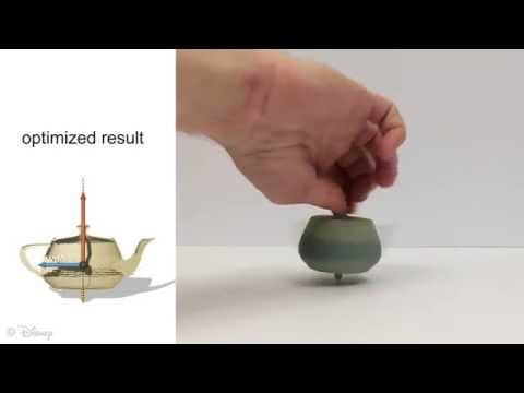 Spin-It: Optimizing Moment of Inertia for Spinnable Objects