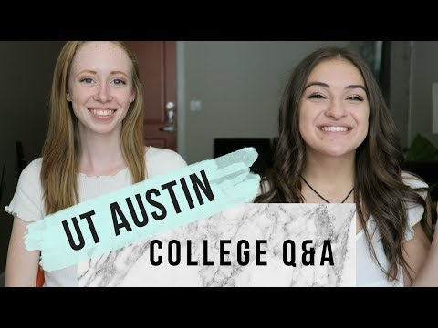 College Q&A ft. JustAli | UT Austin