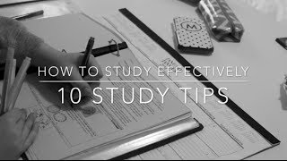 How To Study Effectively | 10 Easy Tips