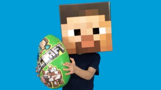 New Minecraft Lego HD Videos For Kids – Toys Unboxing In Giant Surprise Egg – Good Egg!