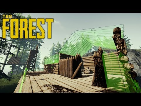 BIG CHANGES, ROOF ISSUES | The Forest | Let's Play Gameplay | S14E09