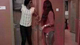 "Belinda Effah Obstructed From Discovering Uninvited Guest In "" 2Broken ""[2/4]"
