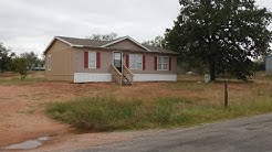 Move in Ready Double Wide Home for sale in Kingsland, Tx