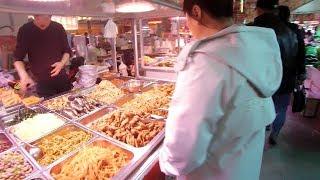 逛逛丹东沙河镇农贸市场,超长镜头无删减,想回家乡看看么