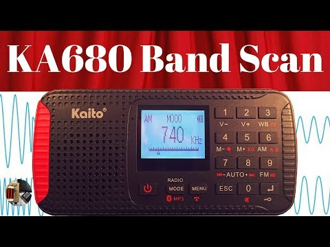 Radio Waves #74: Kaito KA680 Band Scans FM NOAA AM