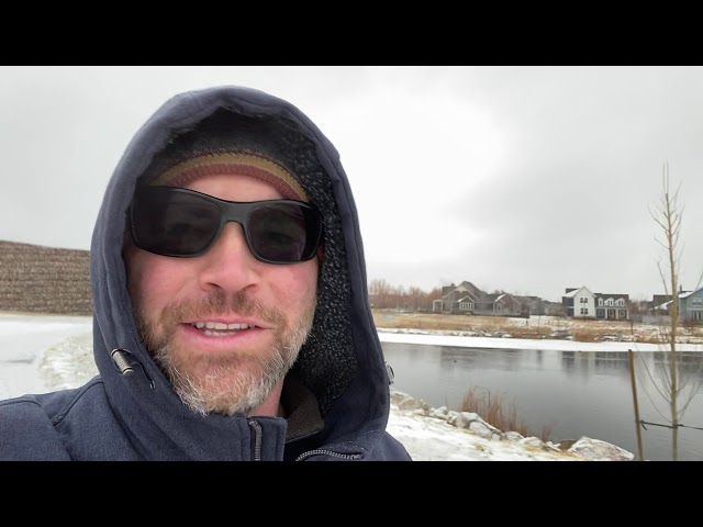 Jason Hewlett Walking by the Lake 12-14-2020