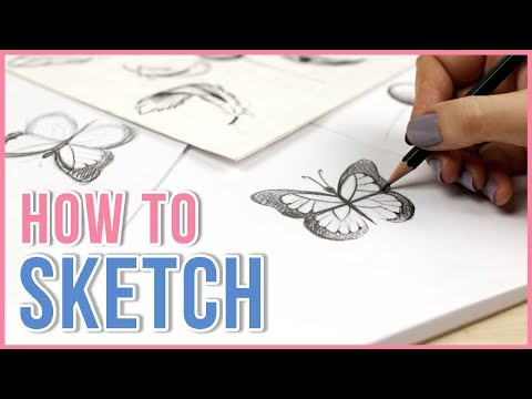 How To Sketch | Sketching Tips For Beginners | Art Journal Thursday Ep. 21