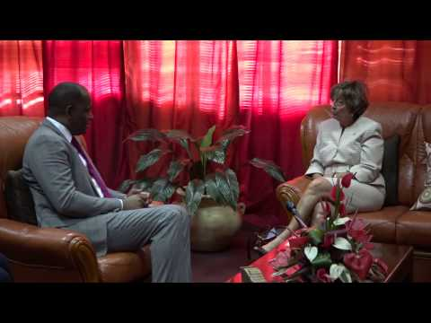 Courtesy Call by the US Ambassador to Dominica