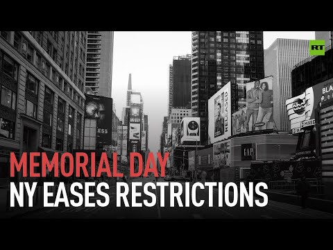 Memorial Day in NY | Remember what's it like be to be outside?