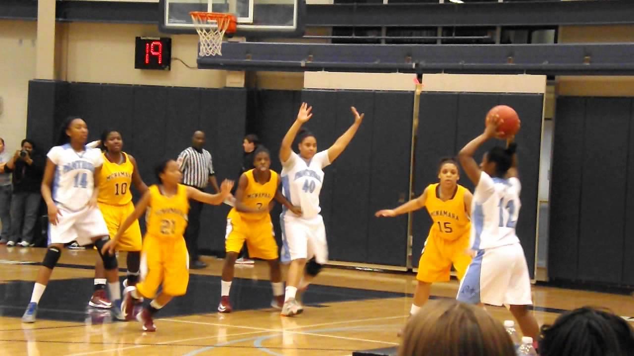 Bishop McNamara at St. Vincent Pallotti (Girls Basketball ...