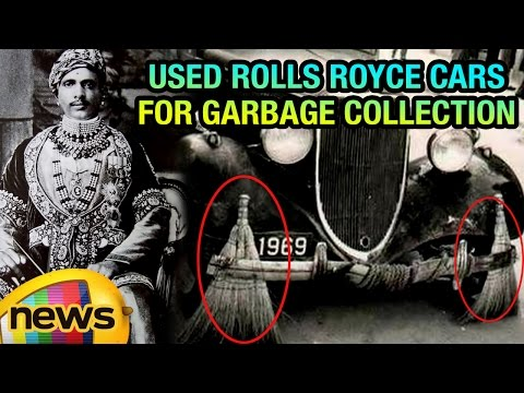 Indian Maharaja Used Rolls Royce Cars For Garbage Collection | Mango News