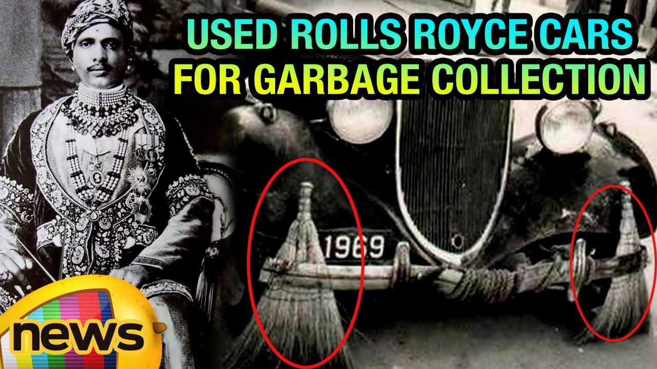 Indian Maharaja Used Rolls Royce Cars For Garbage Collection | Mango