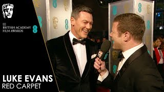 Luke Evans on the Red Carpet | EE BAFTA Film Awards 2019