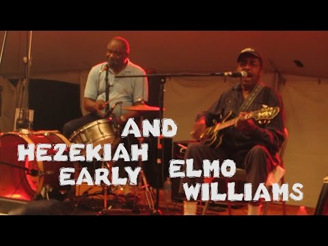 ELMO WILLIAMS & HEZEKIAH EARLY - Muddy Roots Music Festival 2014