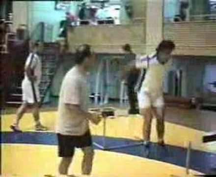 Iranian National Wrestling Team training vid