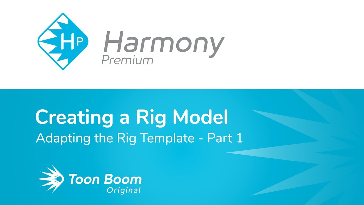 How to Adapt the Rig Template with Harmony Premium - Part 1 - YouTube