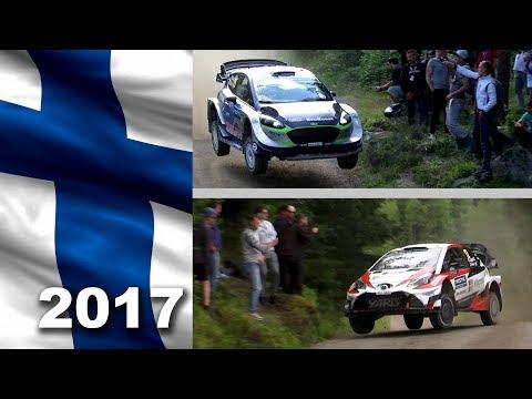 WRC rally Finland 2017. Suninen vs Lappi. All days.