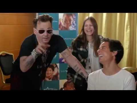 Johnny Depp- Starkey Hearing Foundation, Portugal