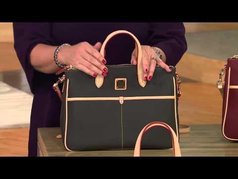 Dooney amp bourke carley daniella satchel with jayne brown youtube