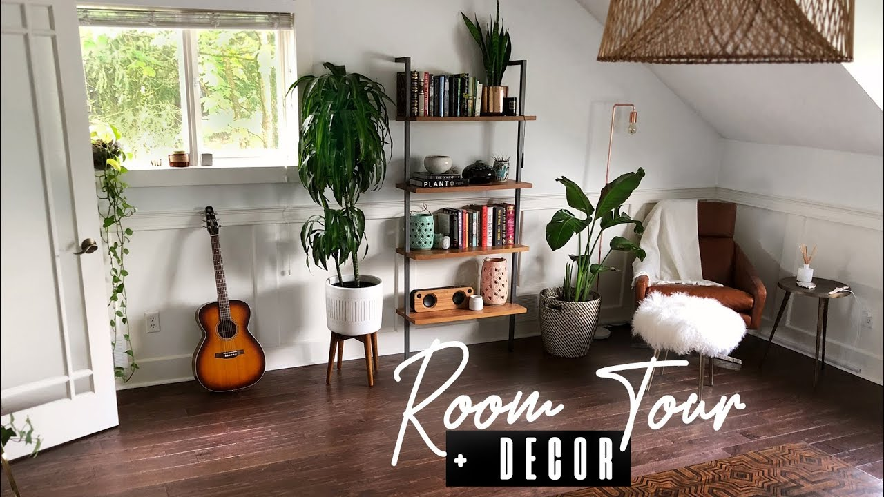 BEDROOM TOUR + DECOR/EASIEST HOUSE PLANTS