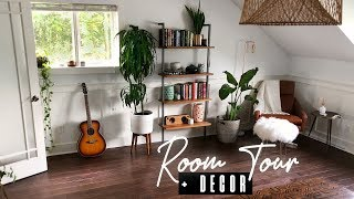 BEDROOM TOUR + DECOR/EASIEST HOUSE PLANTS | Samantha Ravndahl