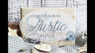 Новогодний альбом в стиле Рустик